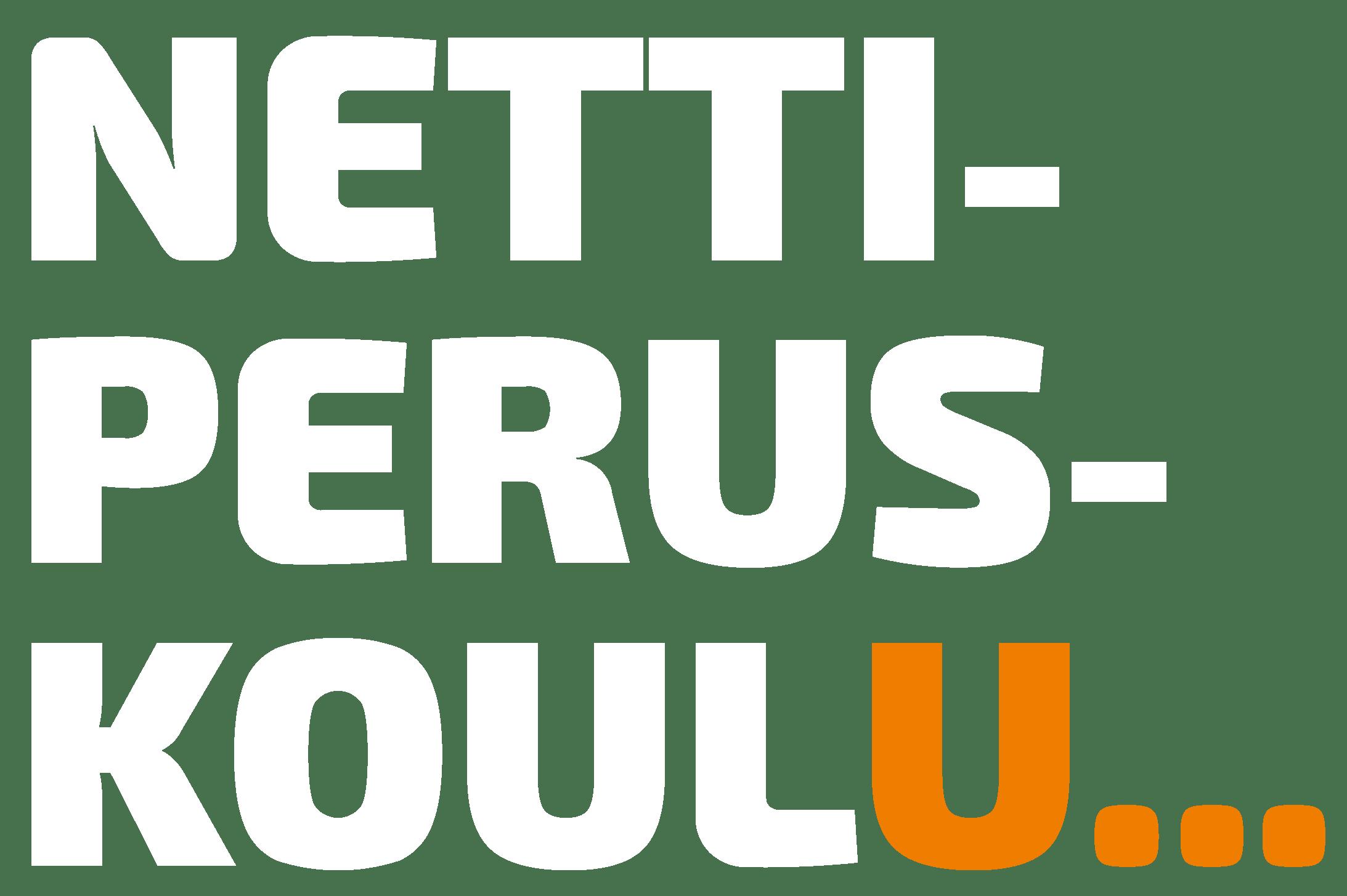Nettiperuskoulun logo